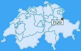 PLZ 7320 Schweiz