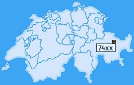 PLZ 74 Schweiz