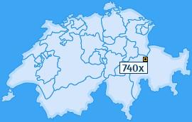 PLZ 740 Schweiz