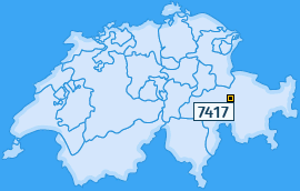 PLZ 7417 Schweiz