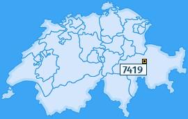 PLZ 7419 Schweiz