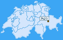 PLZ 7423 Schweiz