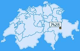 PLZ 7428 Schweiz