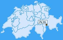 PLZ 7436 Schweiz