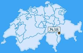 PLZ 7438 Schweiz