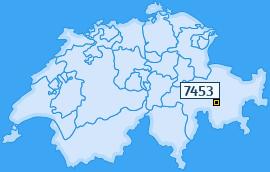 PLZ 7453 Schweiz