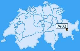 PLZ 7482 Schweiz