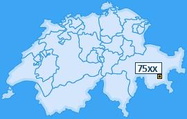 PLZ 75 Schweiz