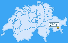 PLZ 750 Schweiz