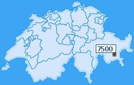 PLZ 7500 Schweiz