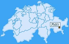 PLZ 7503 Schweiz