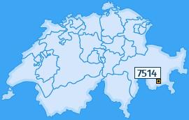 PLZ 7514 Schweiz