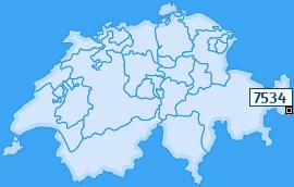 PLZ 7534 Schweiz