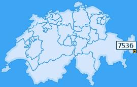 PLZ 7536 Schweiz