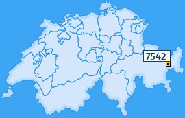 PLZ 7542 Schweiz