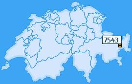 PLZ 7543 Schweiz