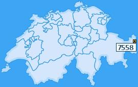 PLZ 7558 Schweiz