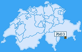 PLZ 7603 Schweiz