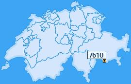 PLZ 7610 Schweiz