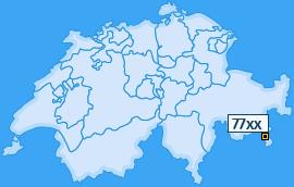 PLZ 77 Schweiz