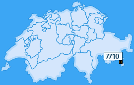 PLZ 7710 Schweiz