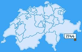PLZ 7744 Schweiz
