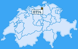 PLZ 8114 Schweiz