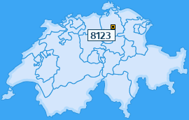 PLZ 8123 Schweiz