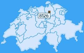 PLZ 8126 Schweiz