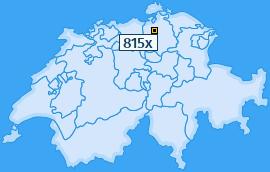 PLZ 815 Schweiz