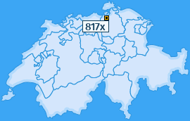 PLZ 817 Schweiz