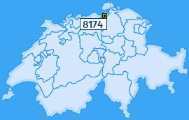 PLZ 8174 Schweiz