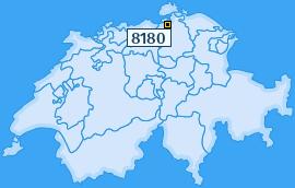 PLZ 8180 Schweiz