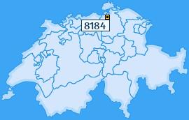 PLZ 8184 Schweiz