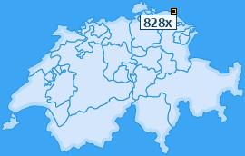 PLZ 828 Schweiz