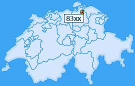 PLZ 83 Schweiz