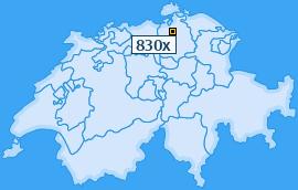 PLZ 830 Schweiz