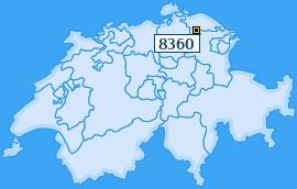 PLZ 8360 Schweiz