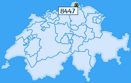 PLZ 8447 Schweiz
