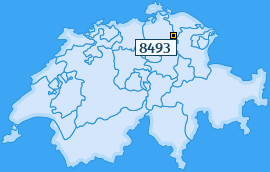 PLZ 8493 Schweiz