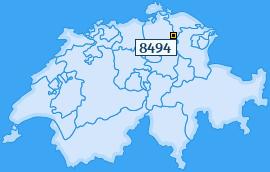 PLZ 8494 Schweiz