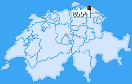 PLZ 8554 Schweiz