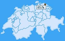 PLZ 857 Schweiz