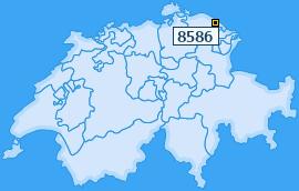 PLZ 8586 Schweiz