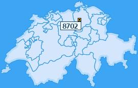 PLZ 8702 Schweiz