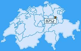 PLZ 8752 Schweiz