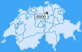 PLZ 8800 Schweiz