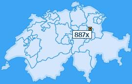 PLZ 887 Schweiz