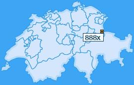 PLZ 888 Schweiz