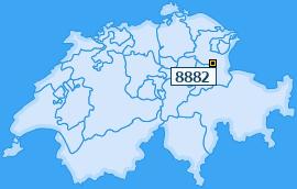 PLZ 8882 Schweiz